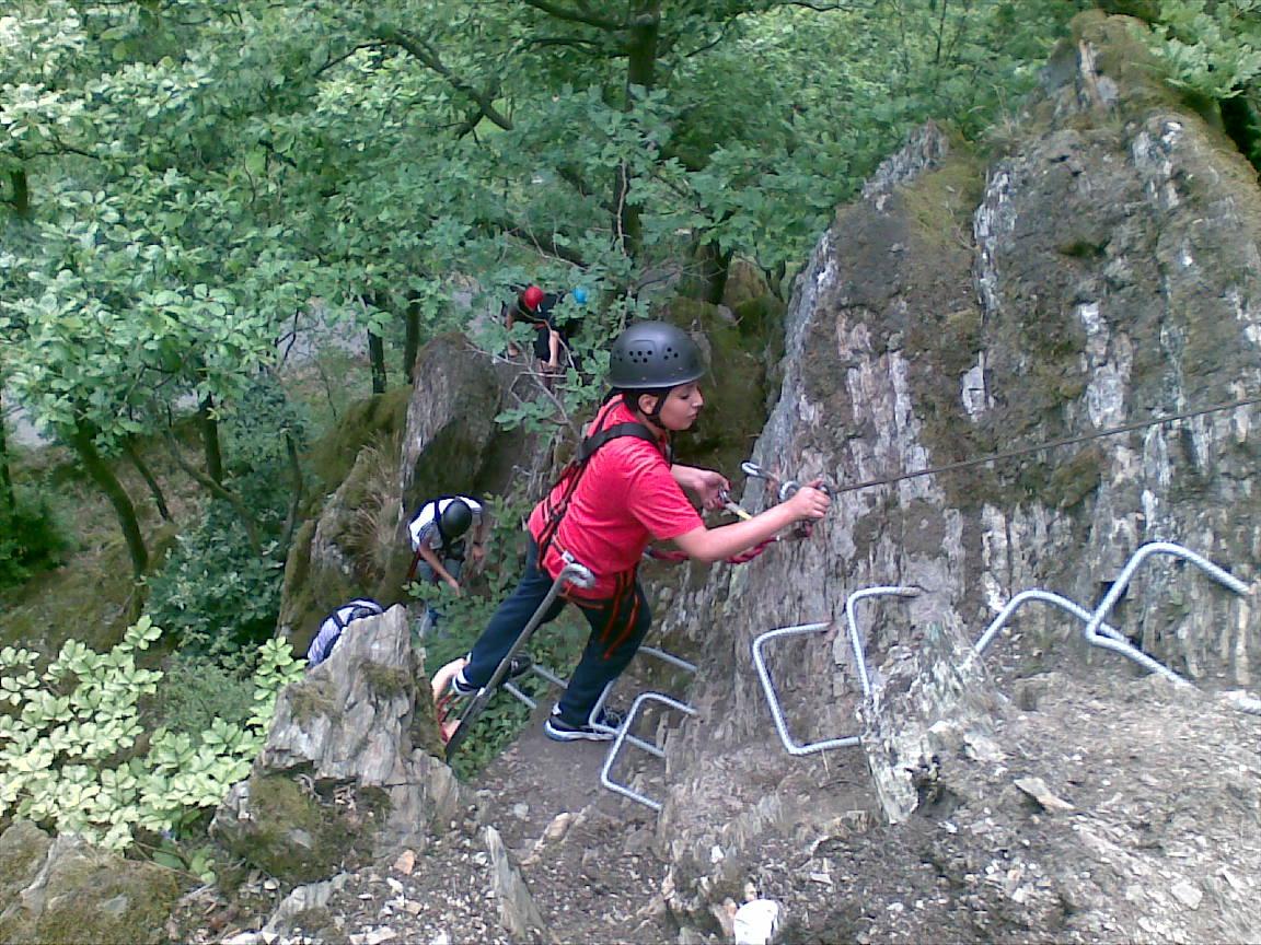 Klettersteig Boppard : Erlebnisevents lumma klettersteig puderbach